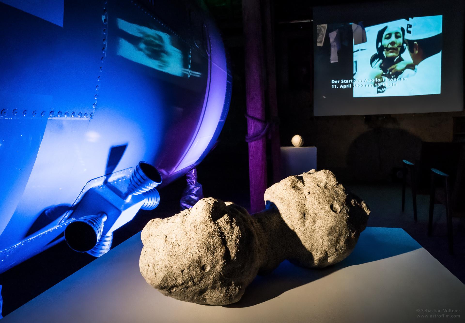 Kometenkern-Modell zum Anfassen