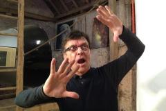 Pantomime JOMI im Weltraum-Atelier